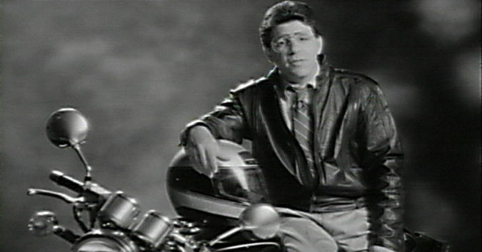 jim sokolove on a motorcycle